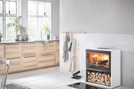 Contura houtkachels Flame Design